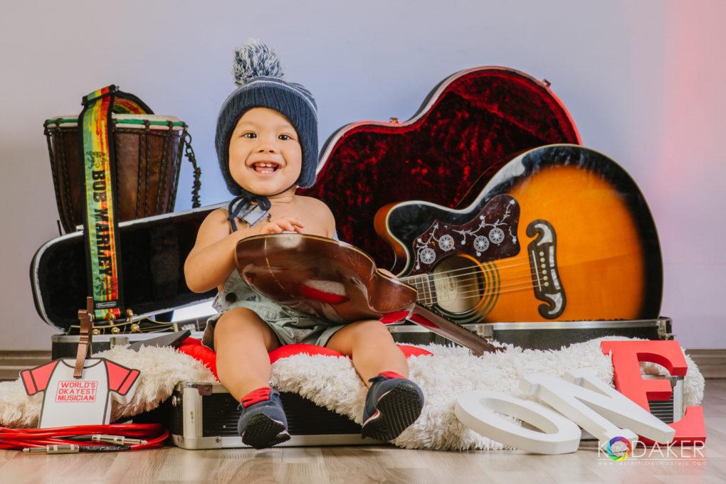 baby musician rockstar